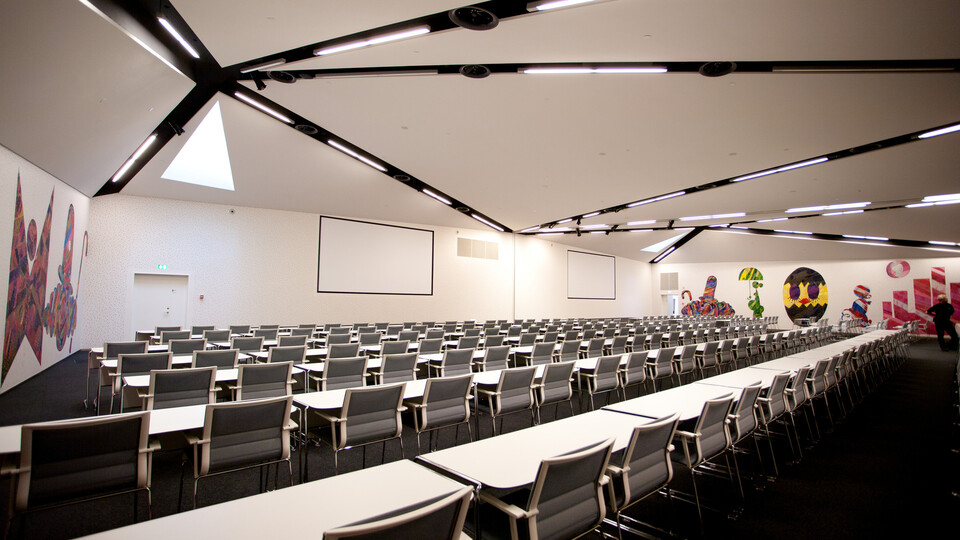 Featured products: Rockfon® Mono™ Acoustic, TE