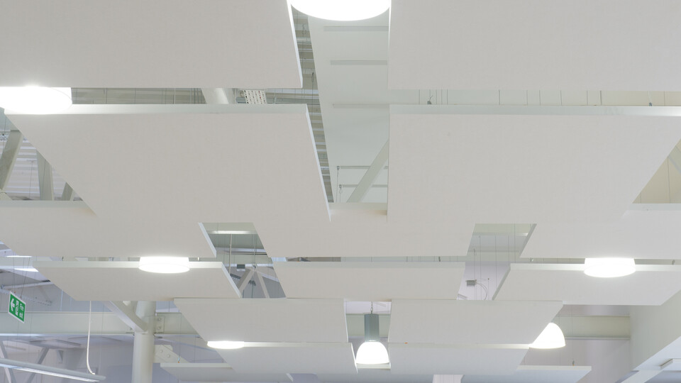 Featured products: Rockfon® Eclipse™, 1160 x 1160