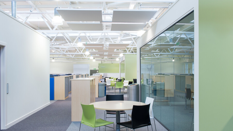 Featured products: Rockfon Eclipse®, 1160 x 1160