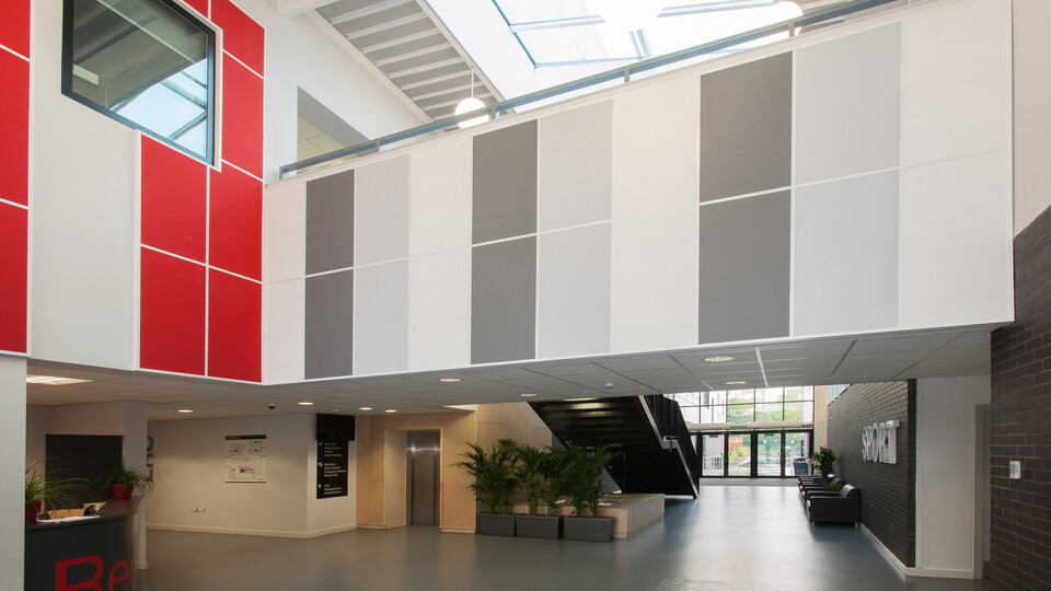 Featured products: Rockfon Color-all®, A24, 1200 x 600
