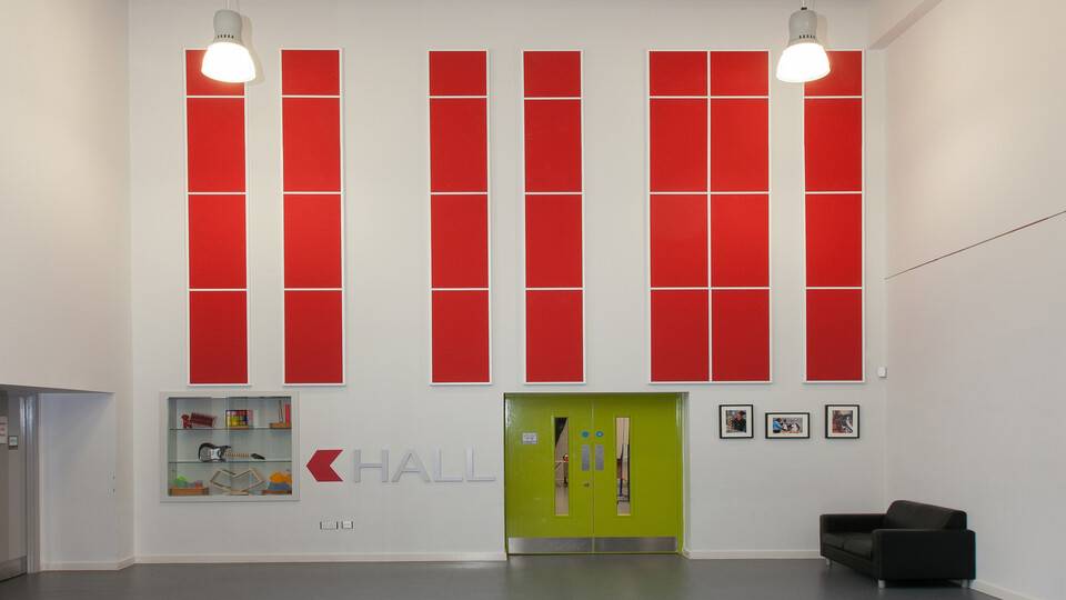 Featured products: Rockfon Color-all®, 1200 x 600