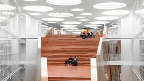 SDU Det Teknologiske fakultet,DK,Odense,C. F. Møller A/S,Bygningsstyrelsen,Svend Christensen,ROCKFON Mono Acoustic