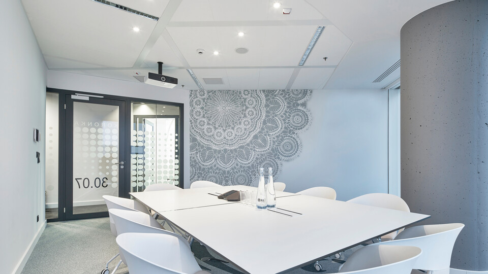 Featured products: Rockfon® Tropic™, D/AEX, 1200 x 600