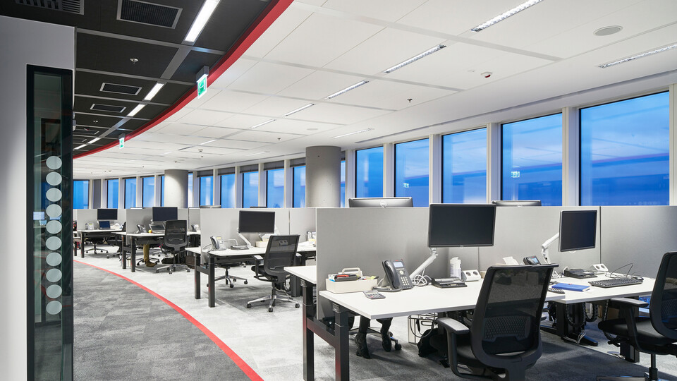 Featured products: Rockfon Color-all®, D/AEX, 600 x 600