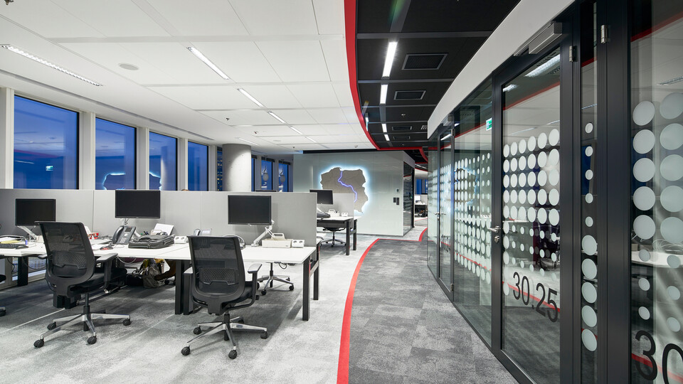 Featured products: Rockfon® Color-all™, D/AEX, 600 x 600